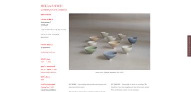 Helga Ritsch Keramik