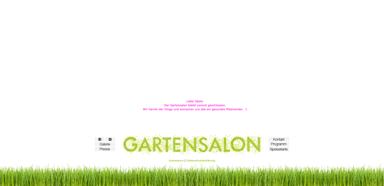 Gartensalon
