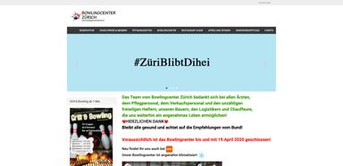 Bowlingcenter Z�rich-Seebach