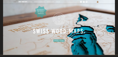 SWISS WOOD MAPS
