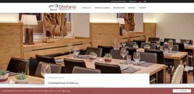 Restaurant Stefans im Alpen Hotel