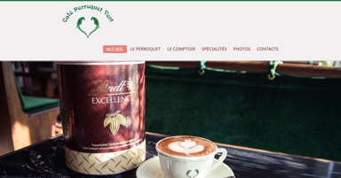 Caf� Perroquet Vert